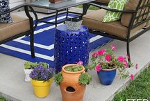Outdoors / Backyards, front, side yards, and other outdoor spaces.