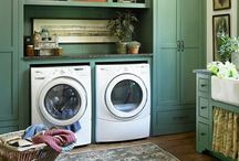 Laundry Spaces / Laundry rooms and decor