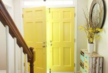 Entry's, Halls, and Bonus Spaces / Front entry's, doors, stairs, hallways, craft rooms, basements, garages, and attics.
