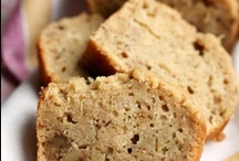Foodie Finds--Breads Sweet & Savory / Quick breads. muffins, pancakes, and corn breads for starters.... / by Gloria Green