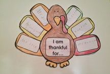 November Unit- Thanksgiving & America / ELL Newcomer thematic learning  / by Paige Jenkins Bowder