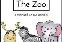 Animals, Habitats & Life Cycle Unit / thematic unit for ELL Newcomers / by Paige Jenkins Bowder