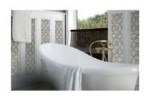 Palazzo Collection / The Palazzo collection provides a multi-faceted dynamic of old world charm and modern beauty with three beautiful colors and four unique decorative designs. Trim options and mosaics also available.