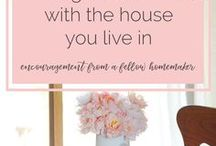 the modern homemaker - homemaking encouragement / the art of homemaking. encouragement for those building a home
