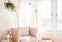 pink home decor inspo / blush ~ pink ~ more pink ~ home decor