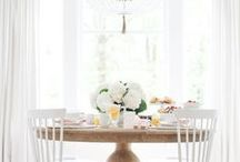 white home decor inspiration / light and airy all-white home decor. inspiration for light and bright spaces