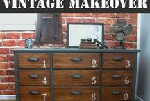 Upcycle and Repurpose / Upcycled gifts | Upcycle decor | Repurposed decor | Reclaimed wood | Pallet decor | Pallet DIY | Vintage makeover | Thrift store finds | Thrift store makeover | Before and After redo