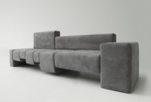 Design Sofas / Collection of sofas designed for ARTEX by various designers: Dima Loginoff, Daniele Menichini, Ilaria Innocenti, Phicubo, Gianfranco Gualtierotti