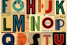 TYPOGRAPHY FONT ART / by Michele Weiland