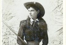 Being Annie Oakley / ~Inspiration for my role as Annie Oakley!~