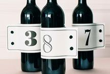 Table Numbers / Seating Charts