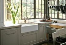 Kitchens & Pantrys / Kitchen and pantry design / by Peg Schoenfelder