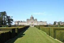Castle Howard / pottery and porcelain at Castle Howard. Castle Howard is a stately home in North Yorkshire, England, 15 miles north of York. It is a private residence, the home of the Carlisle branch of the Howard family for more than 300 years. / by Jorge Gonzalez