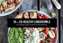 Bowl Me Over / Bowl Foods, Simple Meals in a Bowl