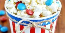 USA party / July 4 party or election day party ideas
