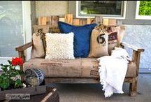 DIY - reuse & repurposed  / by Ginger Craig
