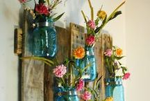 DIY - outdoor & garden decor / by Ginger Craig
