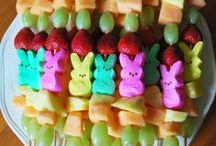 Easter/Spring Recipes & Ideas / Easter recipes and decor #easterrecipes #healthyeasterrecipes #easter #eastercrafts #easterdecorating #springrecipes