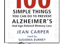 Alzheimer's disease: infos & possible treatments / by Lani Lisson