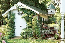 Garden - Shed & greenhouse / by Ginger Craig