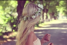 wedding / hair & hairpieces / by Esme Johnson