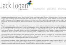 Portfolio / Jack Logan Creative's online design portfolio