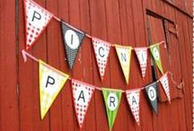 Picnic & Outdoor Party Ideas / Summer picnics and outdoor parties are an American tradition, as well as much-anticipated fun events. So, load up your picnic baskets, grab your grilling gear and head for your favorite park! Prefer to party at home? Porch and patio gatherings are equally fun! Find new ideas to make your picnic outings and patio parties more fun for everyone, including you! / by The Vermont Country Store