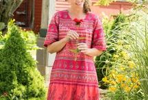 Marvelous Muumuus / Our customers can't get enough of our muumuus! (And we can't, either!) Unhampered by tight waistlines or belts, our beautiful muumuus allow you to move freely, completely unrestricted.  Though we celebrate the occasional Muumuu Monday at the Vermont Country Store, muumuus are for every woman -- every day!