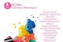 #CyM20blog / Cosmética y Marketing 2.0 es un beauty blog dedicado a las novedades de la cosmética y marketing digital para marcas y negocios de belleza.