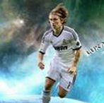 Luka Modric / Luka Modrić is a Croatian professional footballer who plays for Spanish club Real Madrid and captains the Croatia national team. Wikipedia Born: 9 September 1985 (age 32), Zadar, Croatia Height: 1.74 m Weight: 65 kg Nationality: Croatian Spouse: Vanja Bosnic (m. 2010) Current teams: Real Madrid C.F. (#10 / Midfielder), Croatia national football team (#10 / Midfielder)