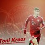 Toni Kroos / Toni Kroos is a German professional footballer who plays as a midfielder for Spanish club Real Madrid and the Germany national team. Wikipedia Born: 4 January 1990 (age 27), Greifswald, Germany Height: 1.82 m Weight: 78 kg Spouse: Jessica Farber (m. 2015) Salary: 12 million EUR (2015) Current teams: Real Madrid C.F. (#8 / Midfielder), Germany national football team (#18 / Midfielder)
