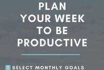 Goals and Productivity / Setting Goals, productivity, 12-week year, planning.