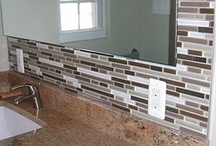 Bathroom Remodel! / The only good thing about a leaking shower destroying everything is getting to pick out new stuff.