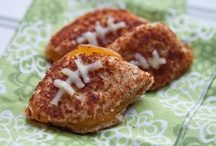 Football and Super Bowl food or menu ideas / by Honest Mom - JD Bailey