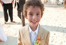 Cute kids in Destination Weddings / Cute ways to incorporate the children in your families!