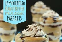 Different desserts / Parfaits, dips, trifles, and bite-size treats that aren't cookies, cakes, or pies. / by Honest Mom - JD Bailey