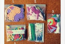 Busy Bags / Keep your children creatively occupied with these simple activities in a bag! / by Crystal@MoneySavingMom.com