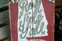Roll Tide Roll / For the love of Bama football  / by Jessica Keller