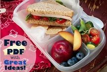 Lunch Recipes / Creative, healthy lunch ideas for kids and adults.  / by Crystal@MoneySavingMom.com
