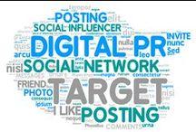 Dijital Pr / Sosyal medya sayesinde, markalar ve şirketler pazarlama ağlarını yönetebilir ve bir pazarlama stratejisi oluşturabilirler.