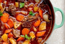Slow cooked + Stews