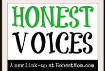 "Honest Voices: Great blogs to read / Great blog posts from the bloggers in Honest Mom's ""Honest Voices"" community. / by Honest Mom - JD Bailey"
