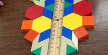 Primary Geometry / I love teaching math! I've dedicated this board to pattern block shape activities, transformational geometry games, 3D solid centers and routines for teaching the Geometry & Spatial Sense strand in your primary mathematics classroom. You'll also find teaching strategies, ideas and FREEBIES! Check out more at MrsBeattiesClassroom.com