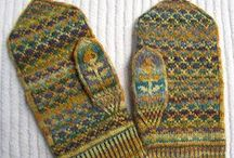 Knitting:  Gloves and Mittens /