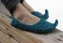 Knitting: Slippers