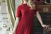 Knitting: dresses and skirts