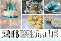 Frozen birthday party ideas / by Honest Mom - JD Bailey