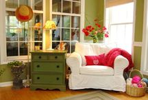 Sunroom decorating ideas / Ideas for remodeling our four-season sunroom / by Honest Mom - JD Bailey