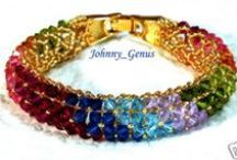 Jewelry Fun-Bracelets / by Marti Anderson