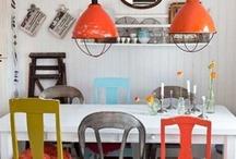 Cuisine / salle à manger / by Peg Zimbo